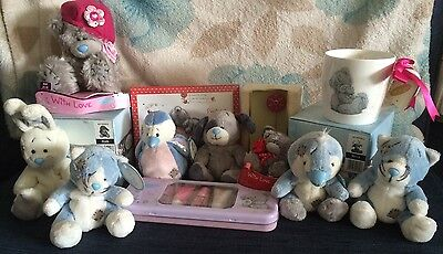Joblot Collection Bundle Of Me To You And Blue Nose Friends Tatty Teddy Xmas