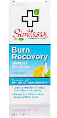 New Similasan Burn Recovery Calendula & Nettle Actives Cooling Spray Skin Care
