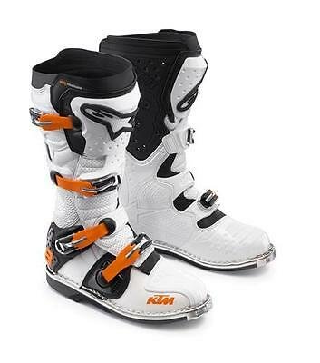 Alpinestars Tech 8 RS White Off Road Boots Free Express Eu Delivery