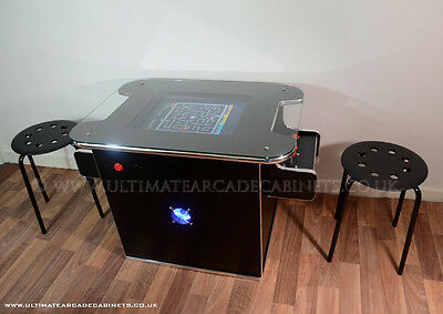 Arcade Table,cocktail Machine for retro gaming fitted with Pinball Buttons