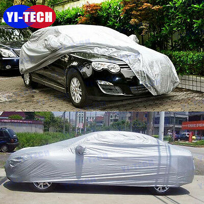 Size XXL Car Cover Waterproof Outdoor Sun UV Snow Dust Rain Resistant Protection