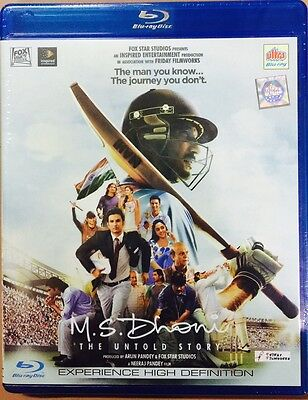 M S Dhoni The Untold Story Bluray - 2016 Bollywood Movie Region Free Subtitles