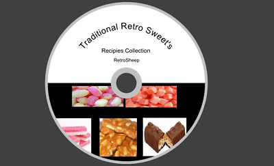 VINTAGE TRADITIONAL CORNER SHOP SWEET RECIPES PARTY SWEETS COLA CUBES #Sweets
