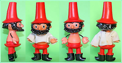 Vintage Czech The Robber Rumcajs Rumsize Rubber Doll Toy 1970's