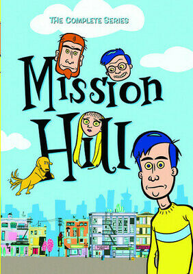 Mission Hill: The Complete Series - 2 DISC SET (2016, DVD NEW)