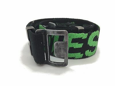 "Diesel Boys Adjustable Belt Kids Brushy Black Size 20"" - 30"" RRP £35"