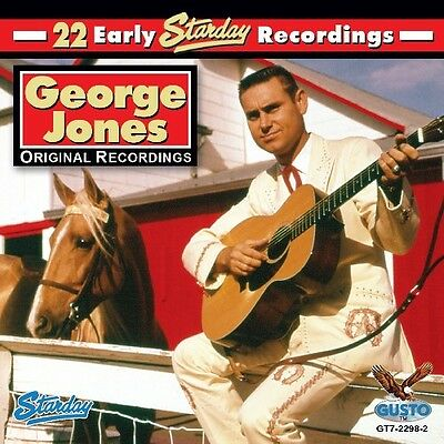 George Jones - 22 Early Starday Recordings [New CD]