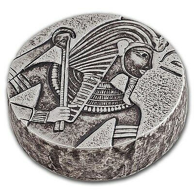 Scottsdale Mint Chad Egyptian Relic Series King Tut 2016 5 oz .999 Silver Coin