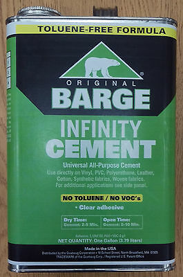 BARGE INFINITY Original Universal All-Purpose Clear CEMENT Shoe Glue 1 GALLON