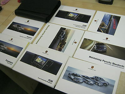 Porsche PANAMERA FULL HANDBOOK PACK INC SAT NAV PCM OWNERS MANUALS