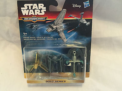 Star Wars, Micro Machines, Empire Defeat, Gold Series, Sealed