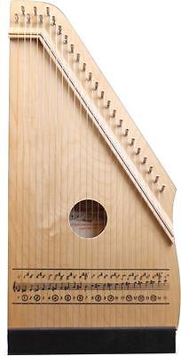 Hopf Kinder-Zither 331/200-4,  natur , 25 Melodiesaiten Kinderzither