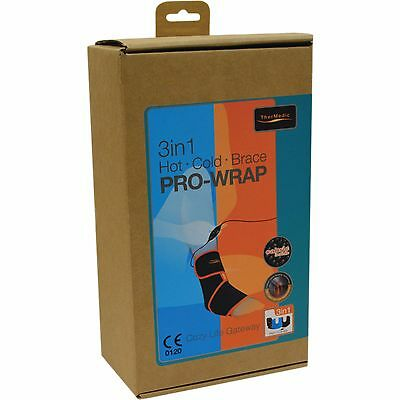 Thermedic 3 In 1 Pro Wrap Ankle Brace Free Shipping