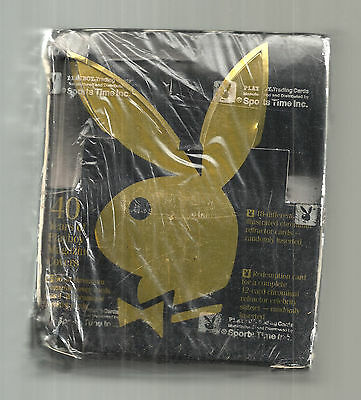 1995 Playboy Chromium Cover Cards Edition One 24 Count Box