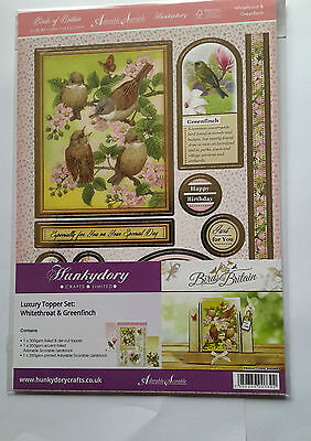 Hunkydory Birds of Britain Luxury Card Collection Topper Set