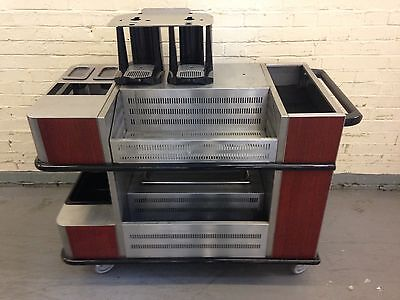 Condiment / Catering Hostess Trolley