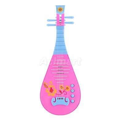 Simulation Lute Toys Musical Instruments Stage Performance Props Kids Toys