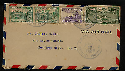 Dominican Republic C4  on  cover to  US  1932      KL0113