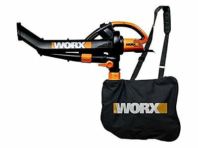 Worx WG501E 3000W Blower/ Mulcher and Vacuum with 7 Speed Settings - New