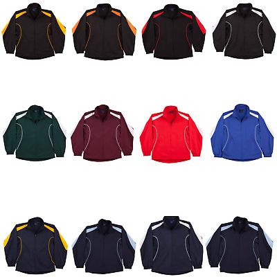 New Unisex Mens Legend Warm Up Jacket Zip Up Adult Mesh Breathable Sport Team