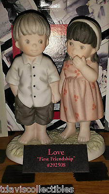 FIRST FRIENDSHIP Boy Girl Holding Hands ~ Kim Anderson Pretty As Picture 292508