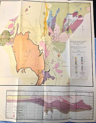 Mining Geology, Nevada Mines: Goldfield Ore Gold, Silver; Oil and Gas; Silica