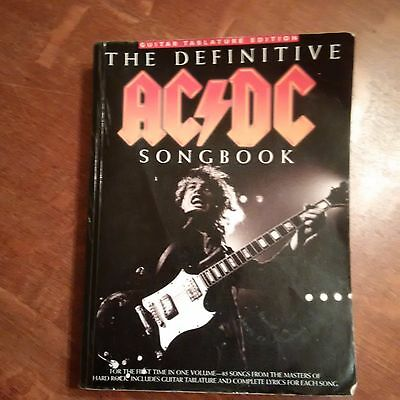 The Definitive AC/DC Songbook - Guitar Tablature Edition - 85 Songs
