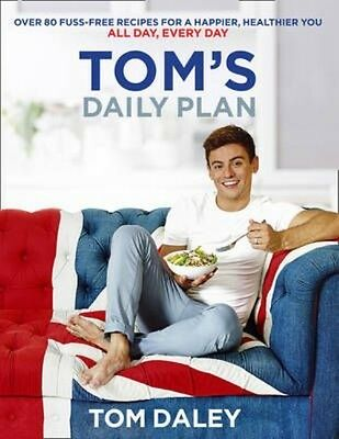 Tom's Daily Plan by Tom Daley Paperback Book