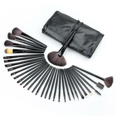 32Pcs Professional Make Up Brush Set Foundation Brushes Kabuki Fan Brushes Tool