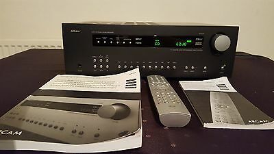 made in ENGLAND 7.1 ARCAM DIVA AVR280 AV Receiver HDMI + remote control manual