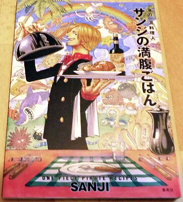 Artbook Sanji Manga Anime One Piece Kochbuch Piraten Rezepte Form recipes