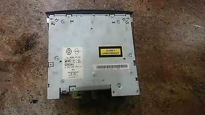 Renault Megane Ii In Dash Cd Changer 6 Disc With Code 8200485082