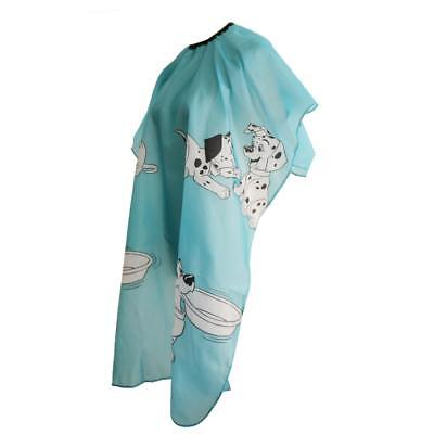 Adjustable Children Hair Cutting Hairdressing Cape Silk Barber Cloth Gown