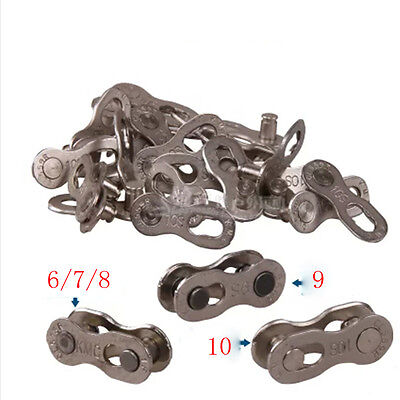 KMC Bicycle Bike Chains Connector Link for 6S/7S/8S/9S/10S Speed Chain