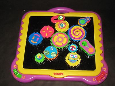 Tomy Gearation Magnetic  High Contrast Special Needs Autism Preschool Toy