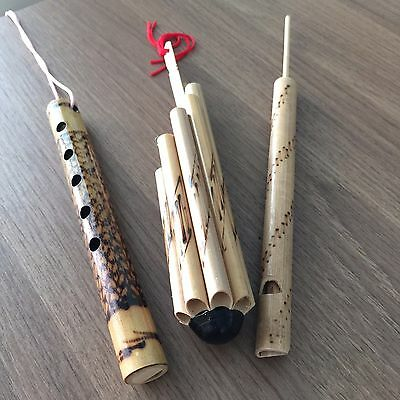 E-San Thai Musical Instrument Vintage Indian Bamboo Classic Laos Sound Vote Band