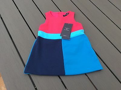 ❤️❤️BNWT Gorgeous Tommy Hilfiger Pinafore Style Dress Age 3-6 Months ❤️❤️