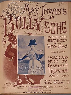 1880's-90's Antique Sheet Music Book 50 Titles Many Coon Songs Black Americana
