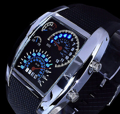 analog digital armband herren uhr schwarz blau chronograph ziffernbeleuchtung 3 eur 24 90. Black Bedroom Furniture Sets. Home Design Ideas