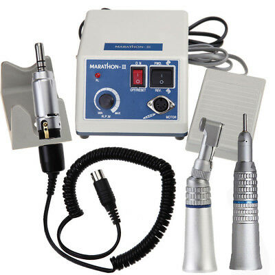 Dentista Dental Micromotor Micromotore+Straight Handpiece manipolo 35Krpm N10 k