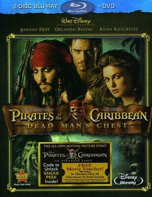 Pirates of the Caribbean: Dead Man's Che (2011, REGION A Blu-ray New) BLU-RAY/WS
