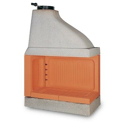 "Refractory Wood Burning Fireplace ""Ecomax Tondo 105"""