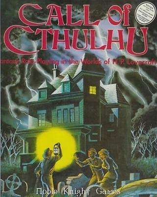 Chaosium Call of Cthulhu Call of Cthulhu (2nd Edition) Box Fair+