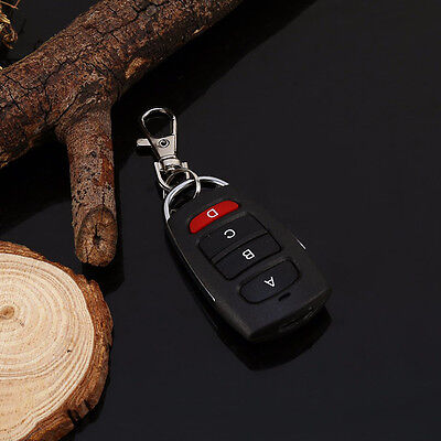 4 Buttons Cloning Electric Garage Door Remote Control Key Fob  433mhz Universal