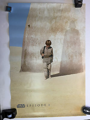"Star Wars Episode I (1) Movie Poster - 24"" x 36"" - 1999 - Lucasfilm - Anakin"