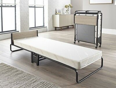 Jaybe Revolution Folding Bed with Memory Foam Mattress, Guest, Rollaway Bed