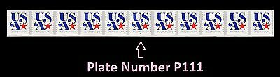 US 5061 Patriotic blue USA red star Nonprofit PNC11 MNH 2016