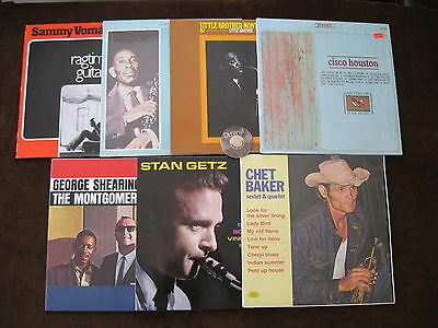 7 LP Lewis Vomacka Getz Baker Shearing Brother Houston 70s 80s Ger. I.| M- to EX