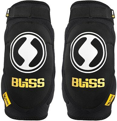 Bliss Protection - Basic Elbow Pads Guards (S, M & L) - MTB Cycling DH Enduro