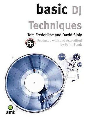 Basic Dj Techniques by David Sloly Paperback Book (English)